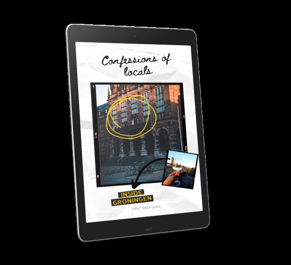 voorkant ebook Inside Groningen guide